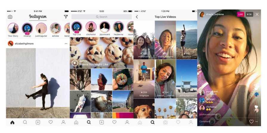 Instagram Stories Live Video