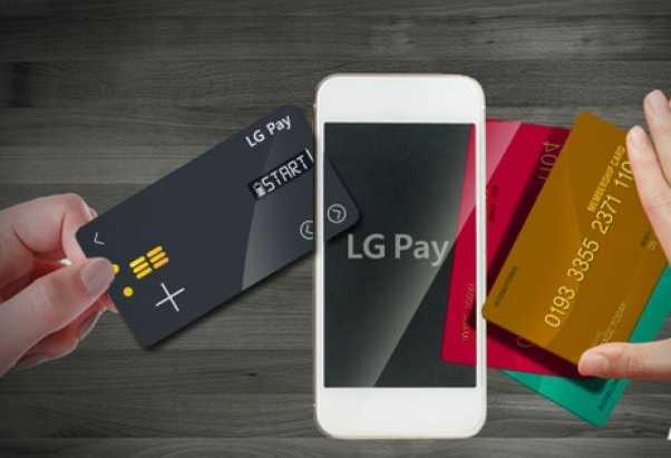 LG G6 LG Pay