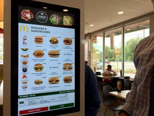 McDonald Digital Kiosks