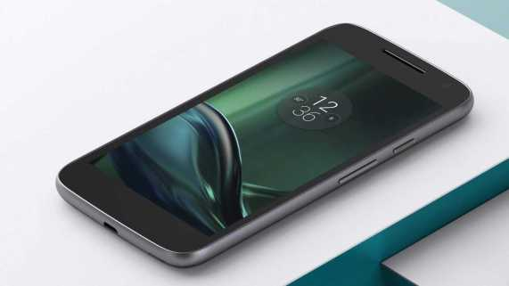 Moto G4 Play Blue Black