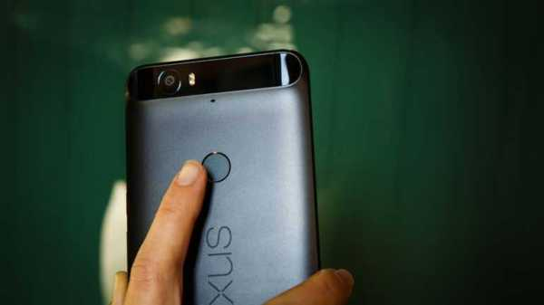 Nexus 5X Fingerprint Swipe