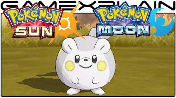 Pokemon Sun and Moon games