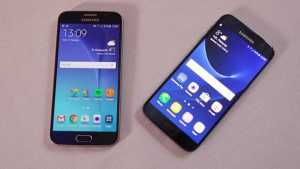 Samsung S6 and S7