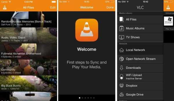 iPhone 7 VLC App
