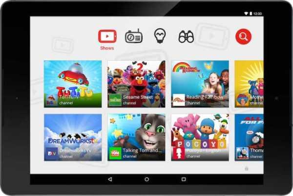 youtube kids Age-based customization
