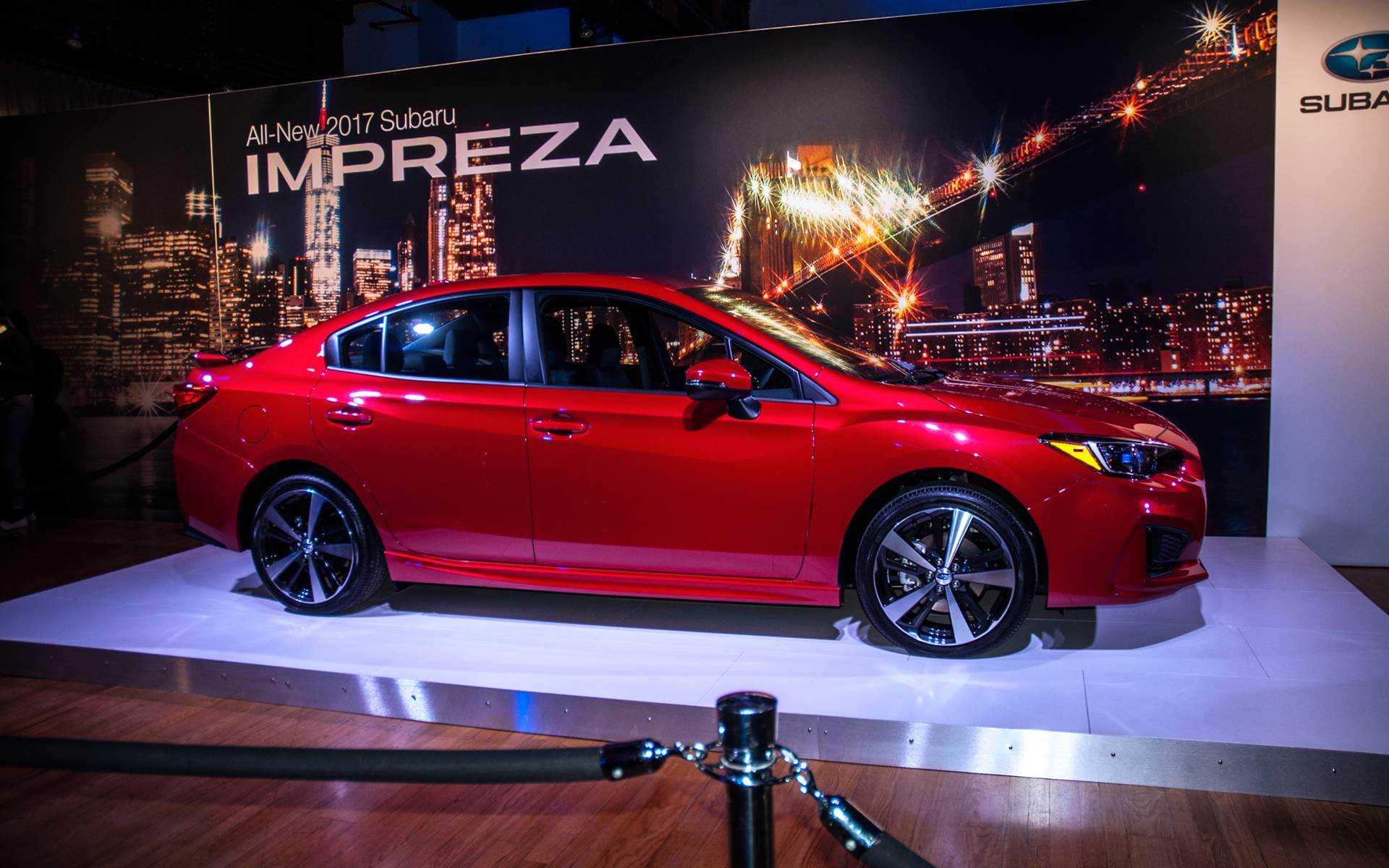 2017 Subaru Impreza Updated Platform, Design And Specs