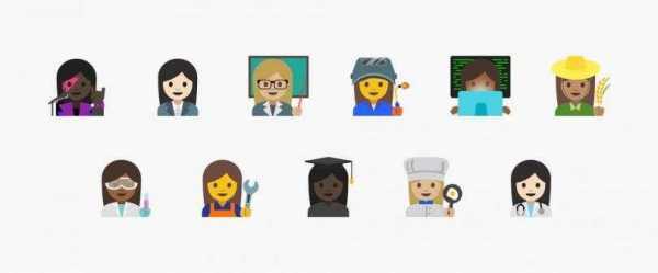 Android Nougat 7.1.1 Emojis