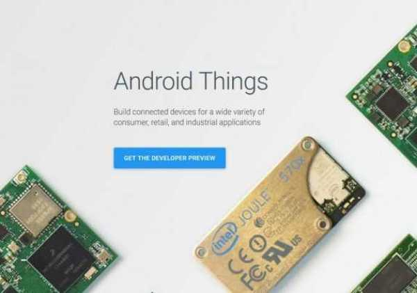 Android Things For Smart Devices