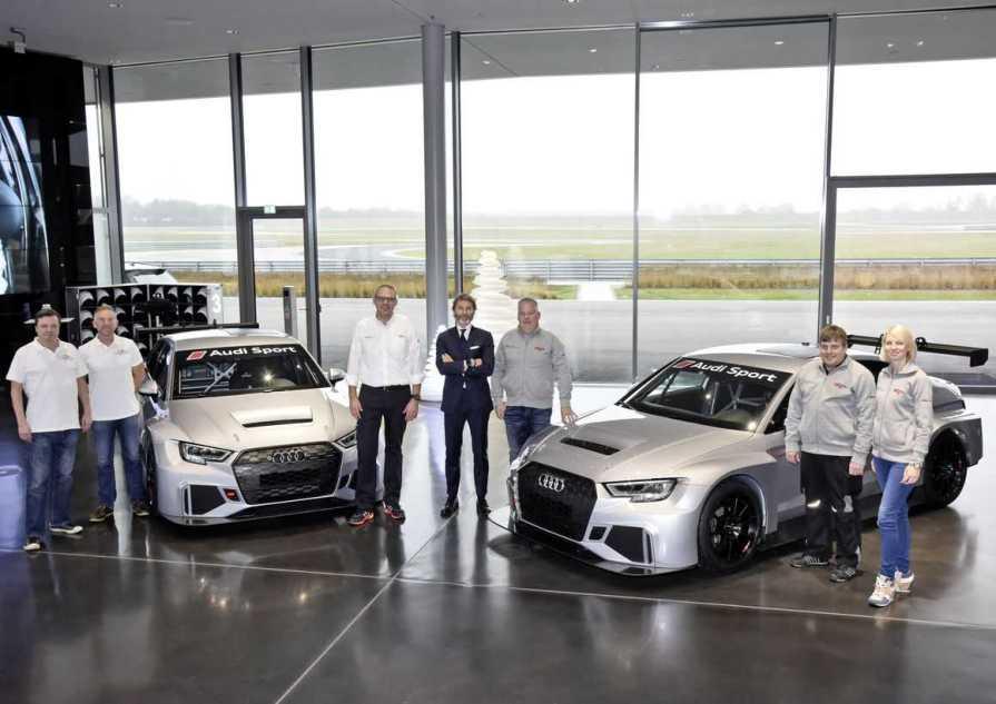 Audi RS3 LMS Details