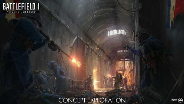 Battlefield 1 They Shall Not Pass DLC
