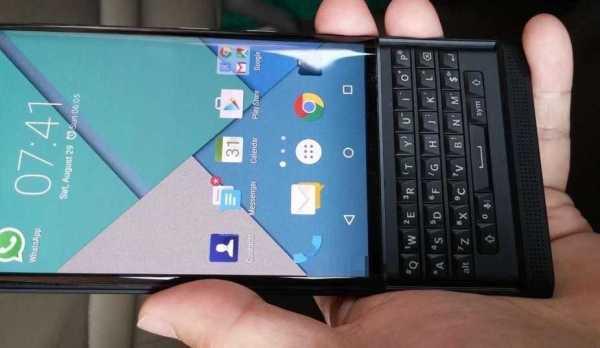 BlackBerry Physical QWERTY Keyboard