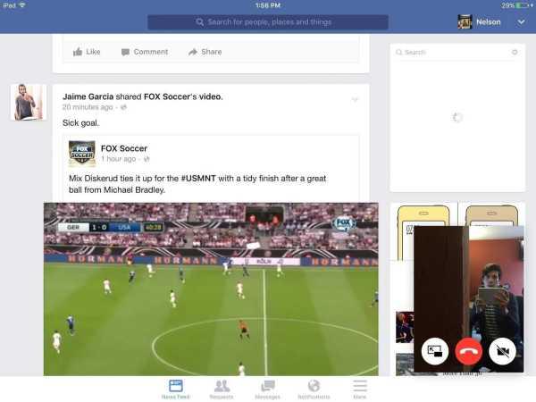 Facebook Floating Video Windows
