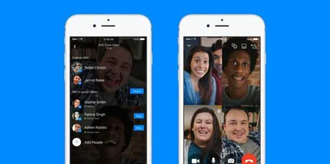 Facebook Messenger Group Video Chats