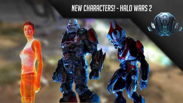 Halo Wars 2 New characters