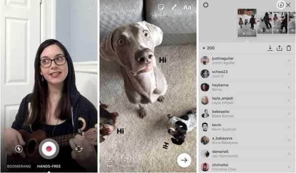 Instagram 10.3 Hands-Free Video