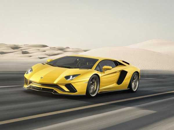 Lamborghini Aventador S Details