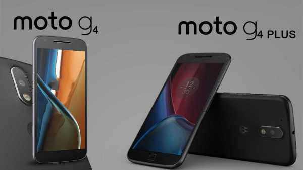 Moto G4 and Moto G4 Plus