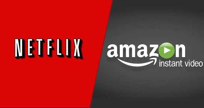 Netflix and Amazon Video