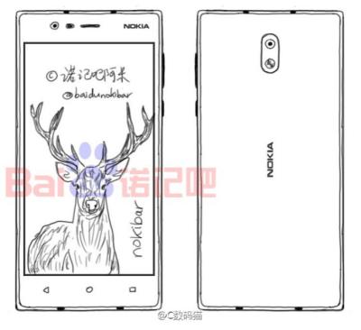 Nokia D1C Sketch