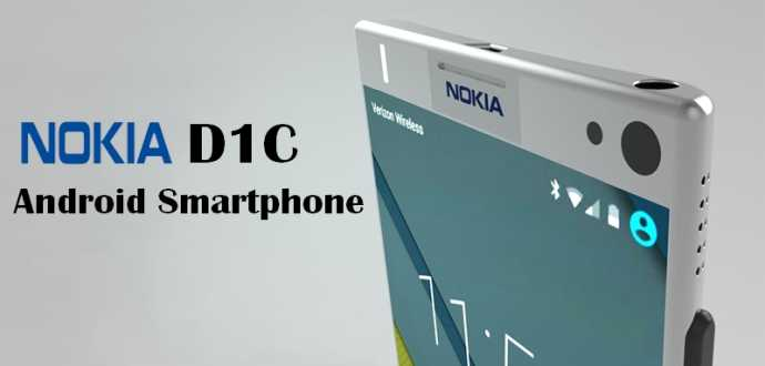 Nokia D1C with Android Nougat 7.0