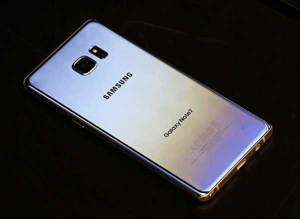Note 7 Disaster