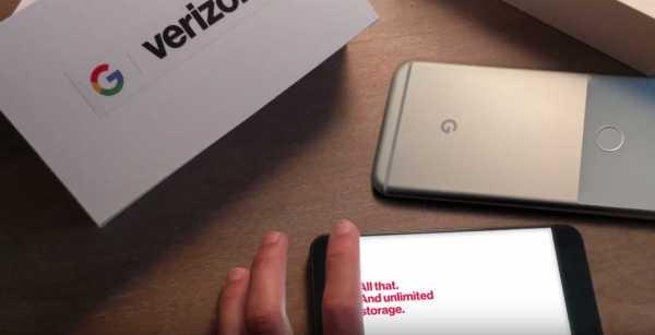 Pixel Phones on Verizon