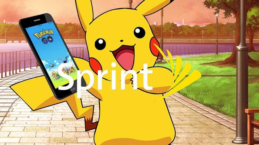 Pokemon Ties Up with Sprint