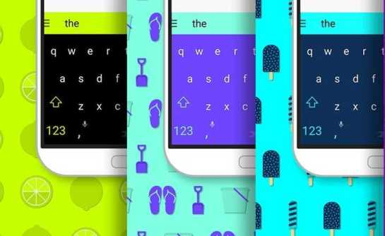 SwiftKey Themes Free on Android