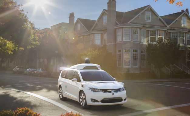 Waymo Google Chrysler Pacifica