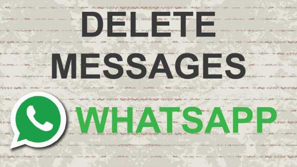 WhatsApp Deleting Sent Messages