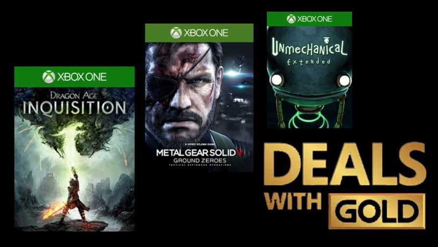 Xbox One Deals with Gold Titles