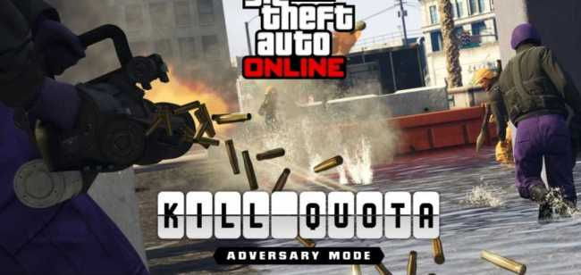 GTA Online Adversary Mode