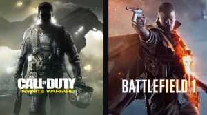 Infinite Warfare and Battlefield 1