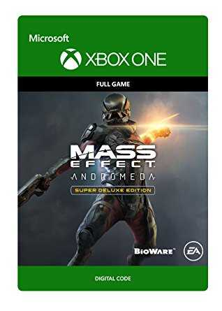 Mass Effect Andromeda Super Deluxe Edition