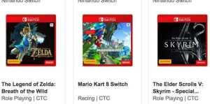 Nintendo Switch EB Games