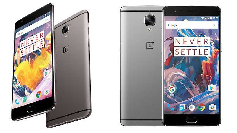 OnePlus 3 and OnePlus 3T