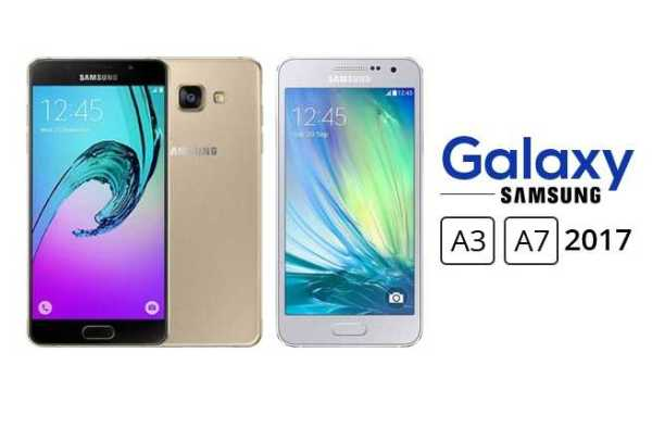 Samsung Galaxy A3 and Galaxy A7 2017