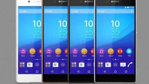 Sony Xperia Flagship Phones
