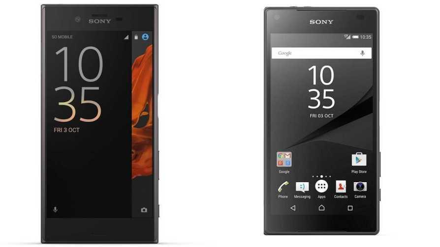 Sony Xperia XZ and Xperia X Performance