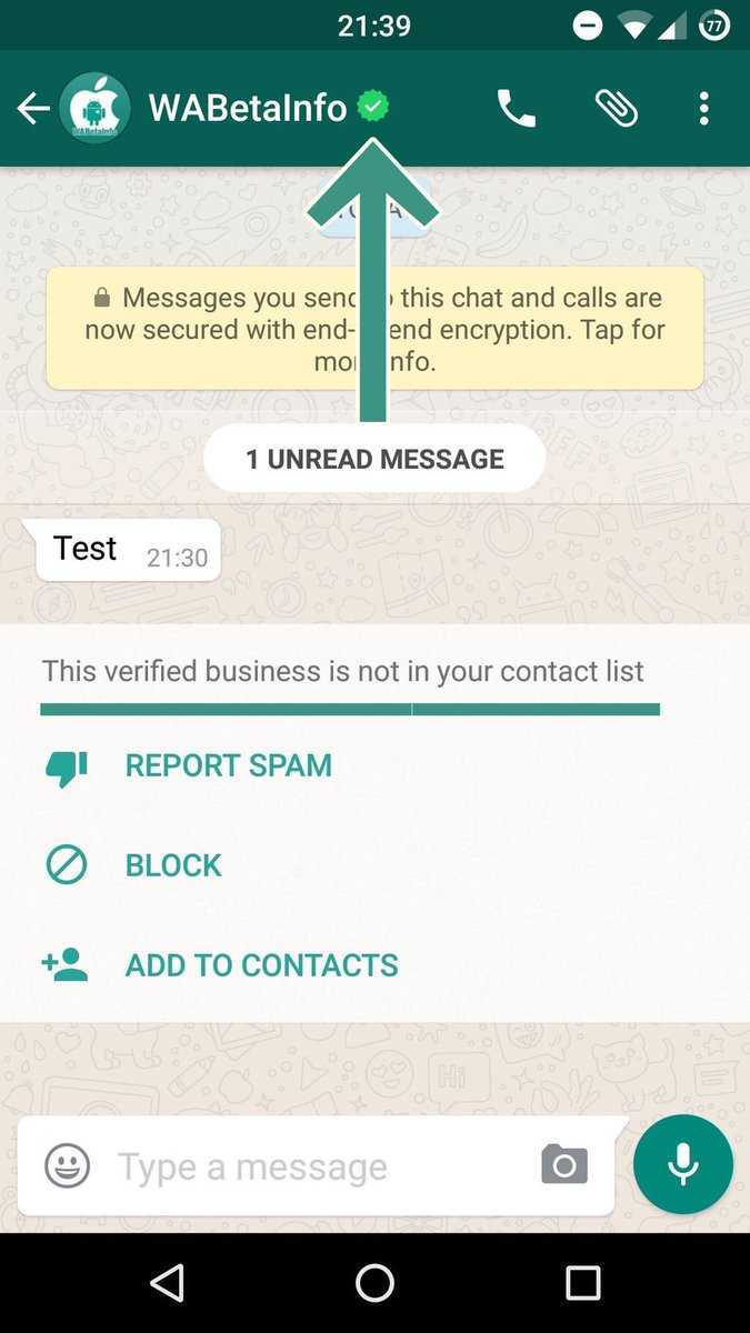 Image result for whatsapp verified