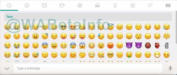 Whatsapp Browse Emojis