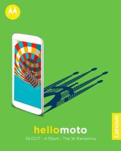 Motorola MWC 2017