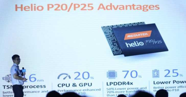 MediaTek Helio P25 octa-core 16nm processor announced