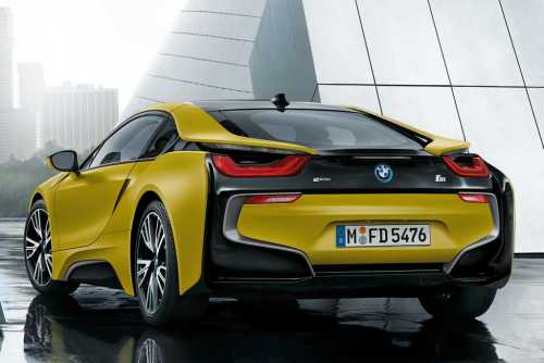 BMW i8 Frozen Yellow Edition 8