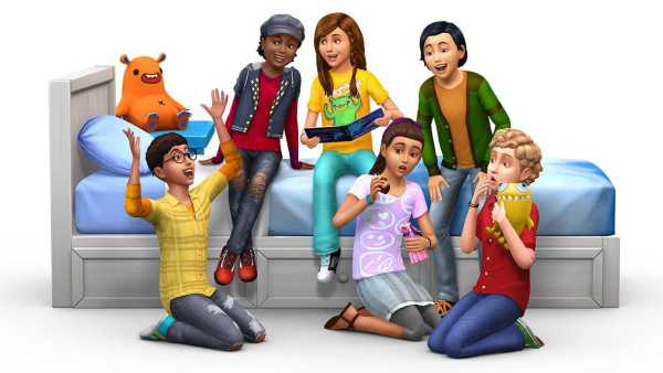 The Sims 4 Kids Room Stuff Free Download