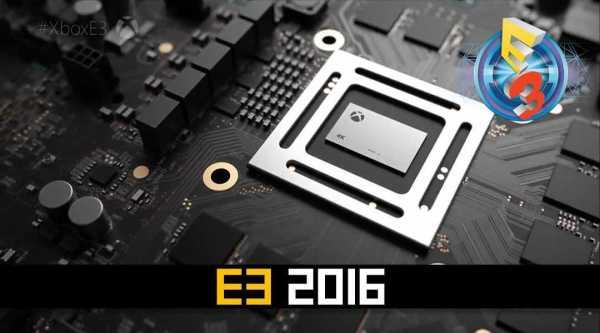 Xbox Scorpio E3 2017