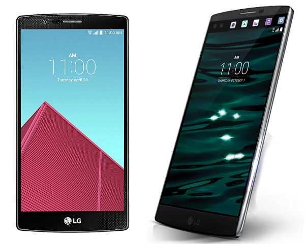 LG G4, LG V10 Android 7.0 Nougat