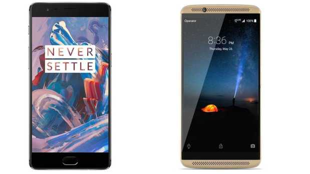 OnePlus 3, OnePlus 3T and ZTE Axon 7 Android 7.1 Nougat