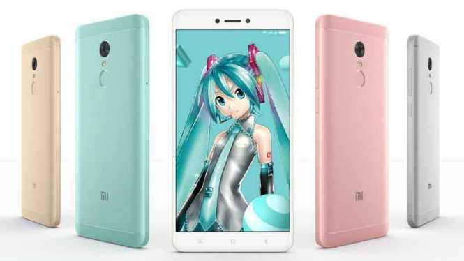 Xiaomi Redmi Note 4X Hatsune Miku Edition