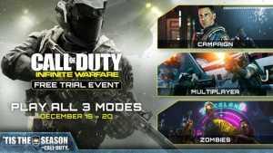 Call of Duty Infinite Warfare Free Trial